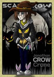 Jonathan Crane: Scarecrow by Meaeshana