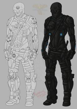OC Black Skull: S.K.U.L.L Suit