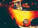retro car by horatziu1977