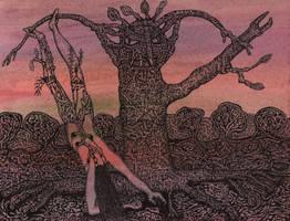 The Hanged Woman by darkallegiance666