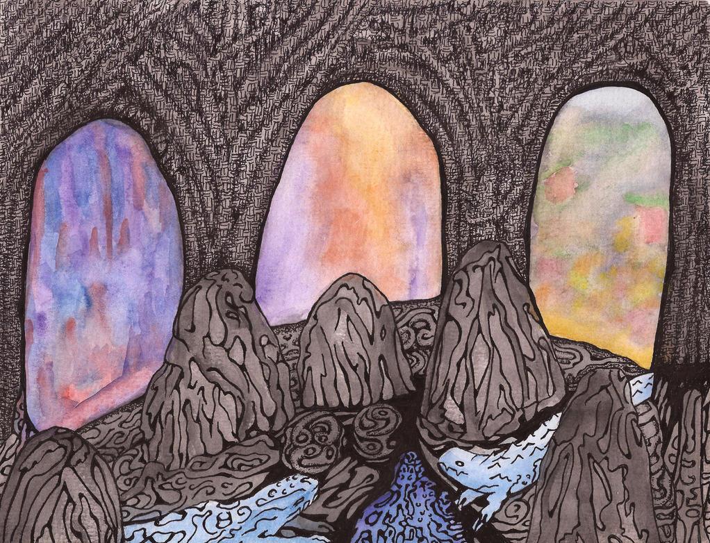 Three Portals by darkallegiance666