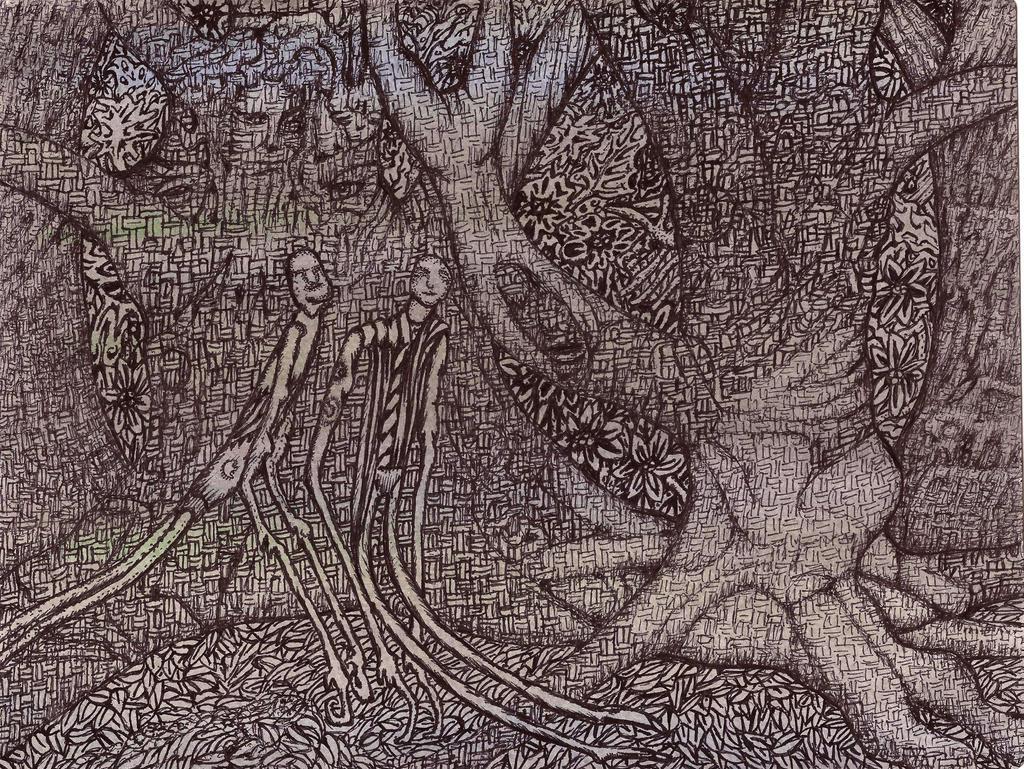 Night Woods by darkallegiance666