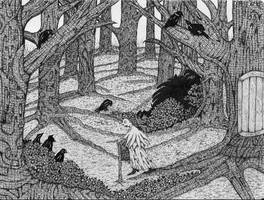 In The Woods by darkallegiance666
