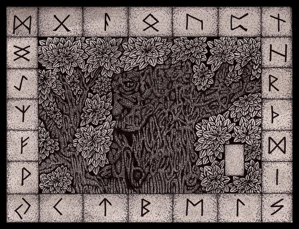 The Runes by darkallegiance666