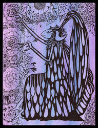 Sorceress of Flowers by darkallegiance666