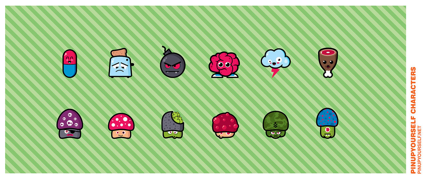 PUYS Characters by Defect303