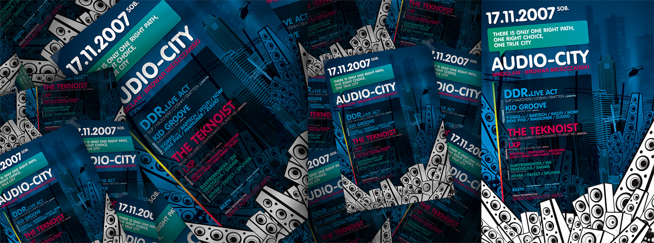 AUDIO CITY 04 by Defect303