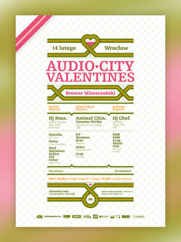 Audio-City Valentines
