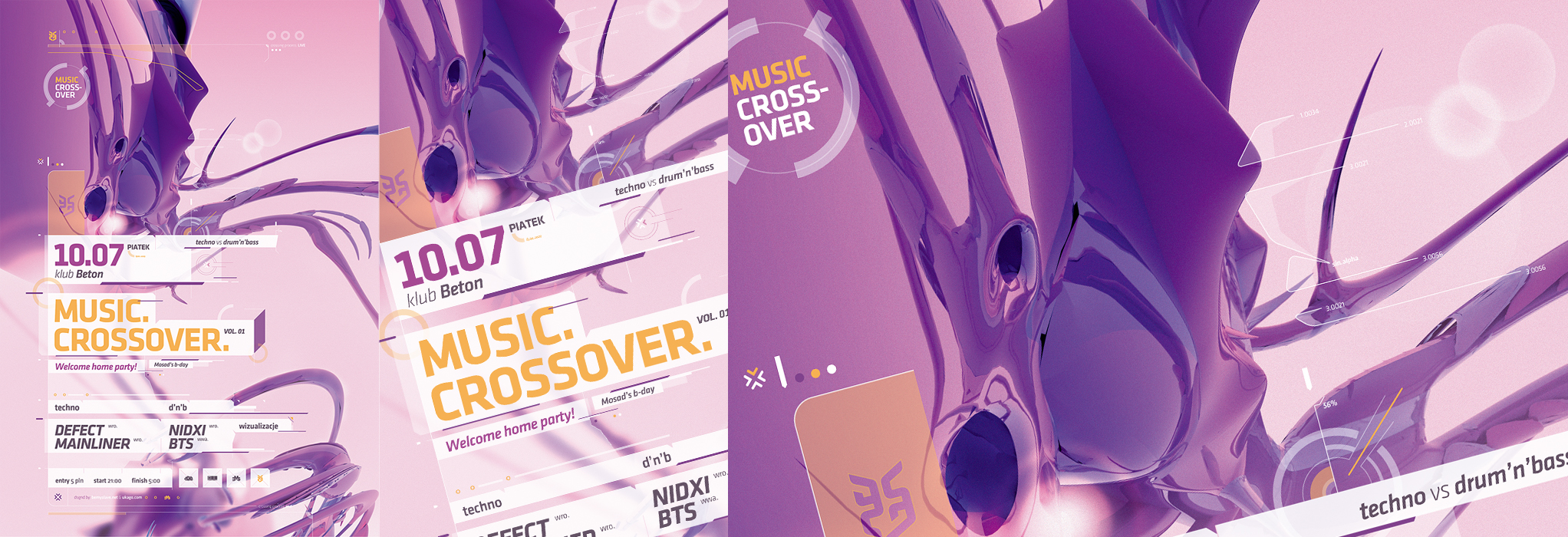 Music Crossover 01 by Defect303