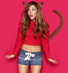 Ariana Grande 2nd Cat Morph (Request)