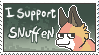 I support snuffen stamp