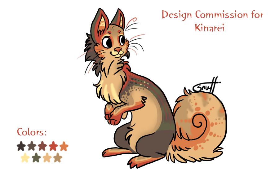 Desing Com Kinarei by griffsnuff