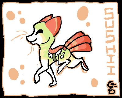 Sushii Badge by griffsnuff