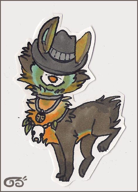 Trad Cactus badge by griffsnuff