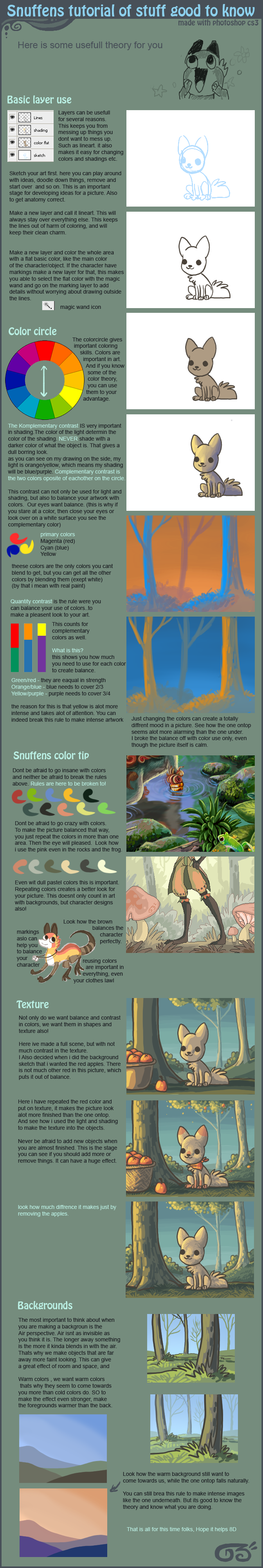 Snuffens art Tutorial by griffsnuff