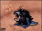fluffy dinofrog