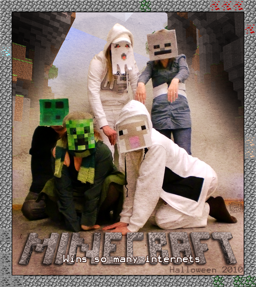 Halloween minecraft win by griffsnuff