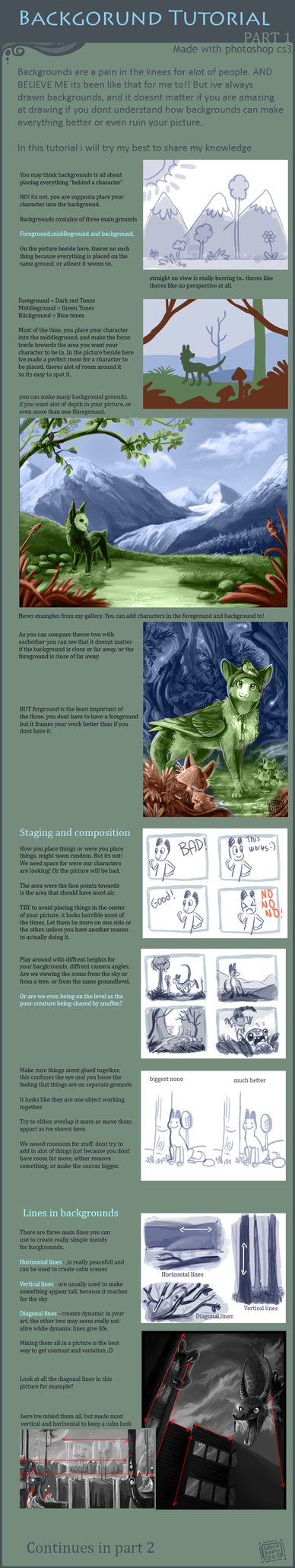 background tutorial part1 by griffsnuff