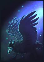 Winged spirit by griffsnuff
