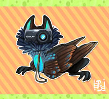 Photosnuff mascot redesigned by griffsnuff