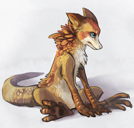 Draco lurvus by griffsnuff