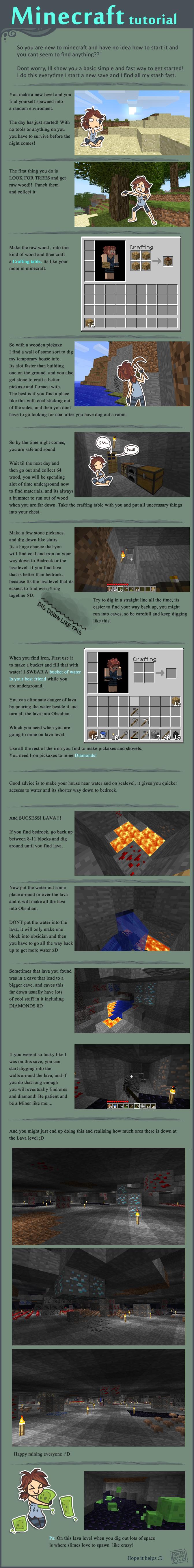 A Minecraft Tutorial by griffsnuff