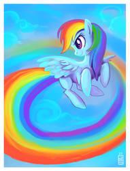 RainbowDash by griffsnuff