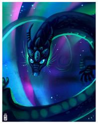 Northen Dragon by griffsnuff