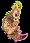 Chibi ferret by griffsnuff