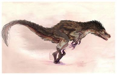 Velociraptor wip by griffsnuff