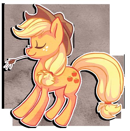 Applejack by griffsnuff