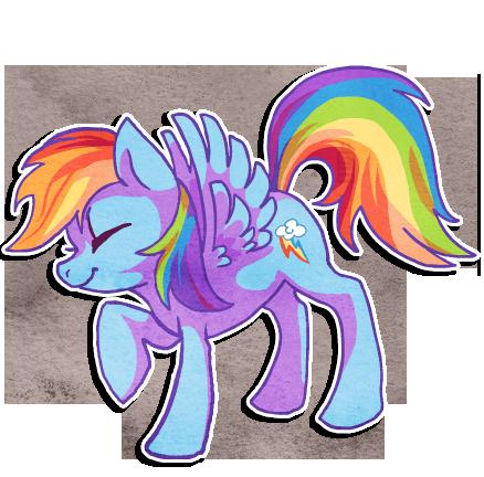 Rainbow Dash by griffsnuff