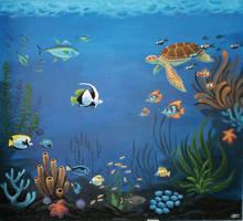 Mural - Sea by griffsnuff