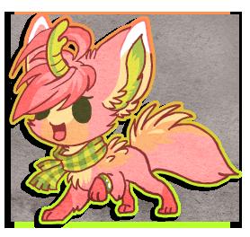 Chibi Cherry by griffsnuff