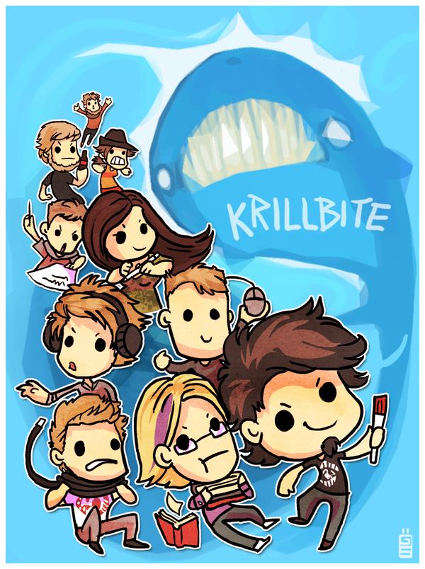 Krillbite by griffsnuff