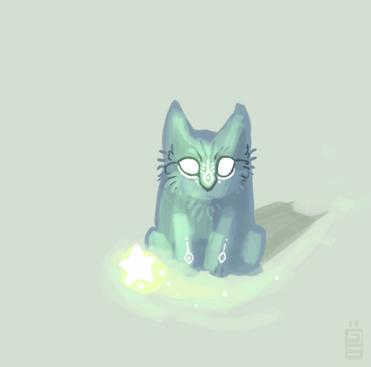 Starcat by griffsnuff