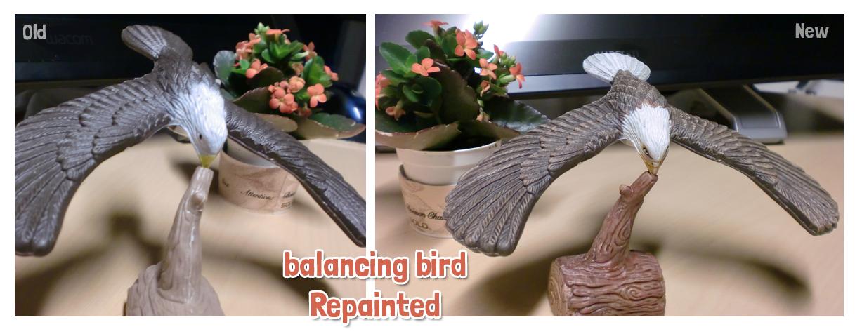 balancing bird by griffsnuff
