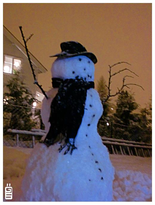 Mr Snowman by griffsnuff