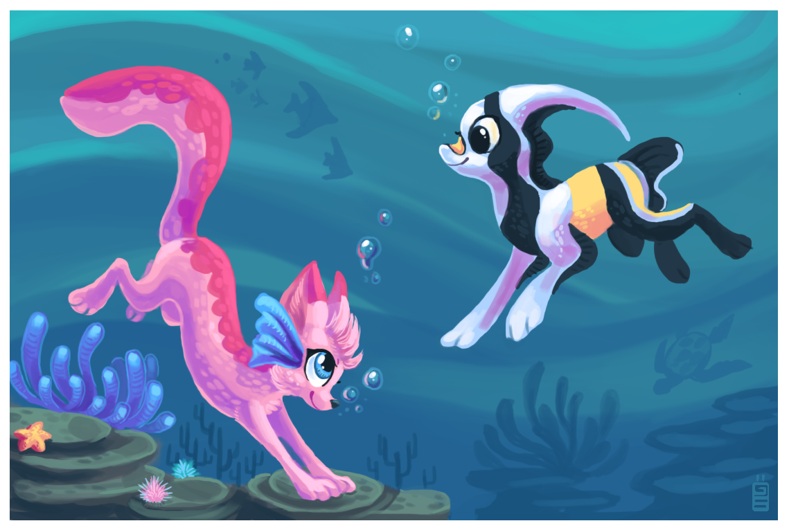 Under the sea by griffsnuff