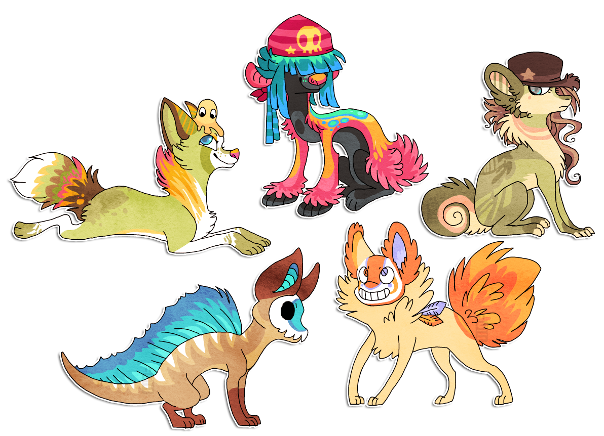 more characters by griffsnuff