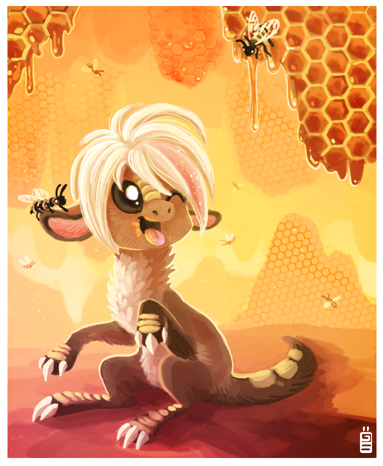 Honey by griffsnuff