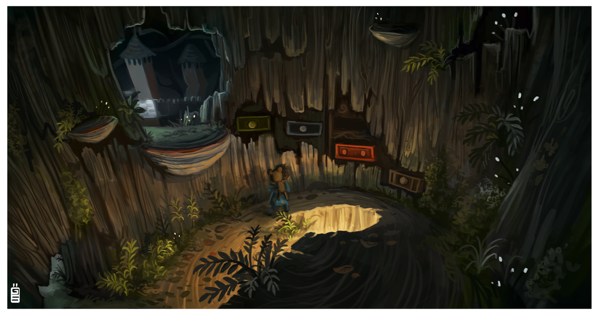 Among the sleep conceptart12 Kickstarter special by griffsnuff