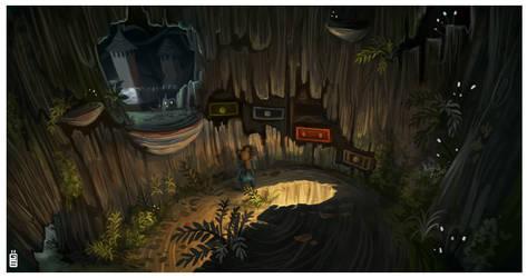 Among the sleep conceptart12 Kickstarter special by griffsnuff