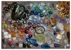 Dem crystalsrocksstonessauce UPDATE by griffsnuff