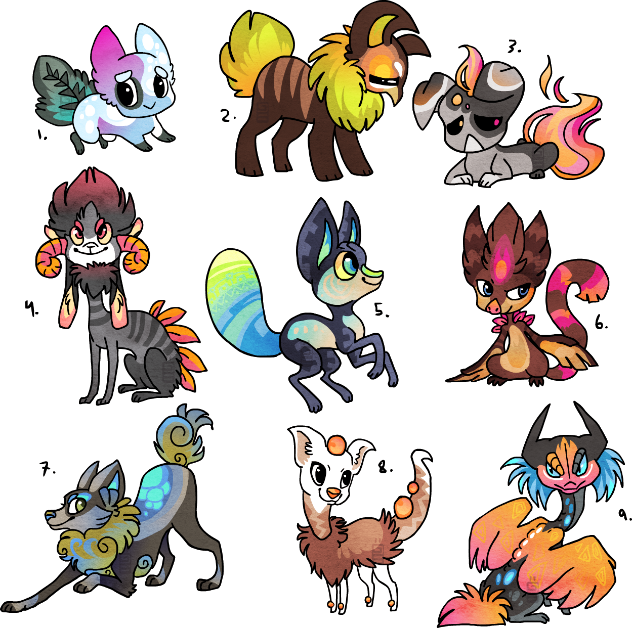 Designs SOLD by griffsnuff