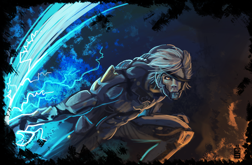Raiden by griffsnuff
