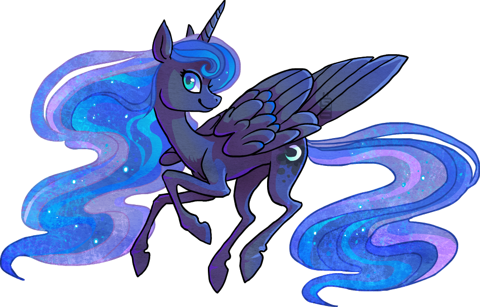 Princess Luna by griffsnuff