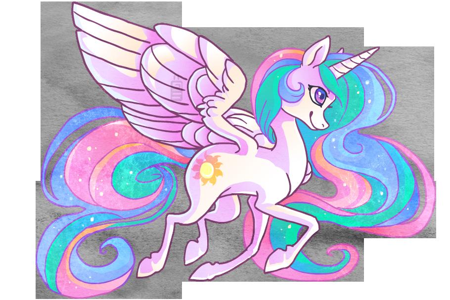 Princess Celestia by griffsnuff