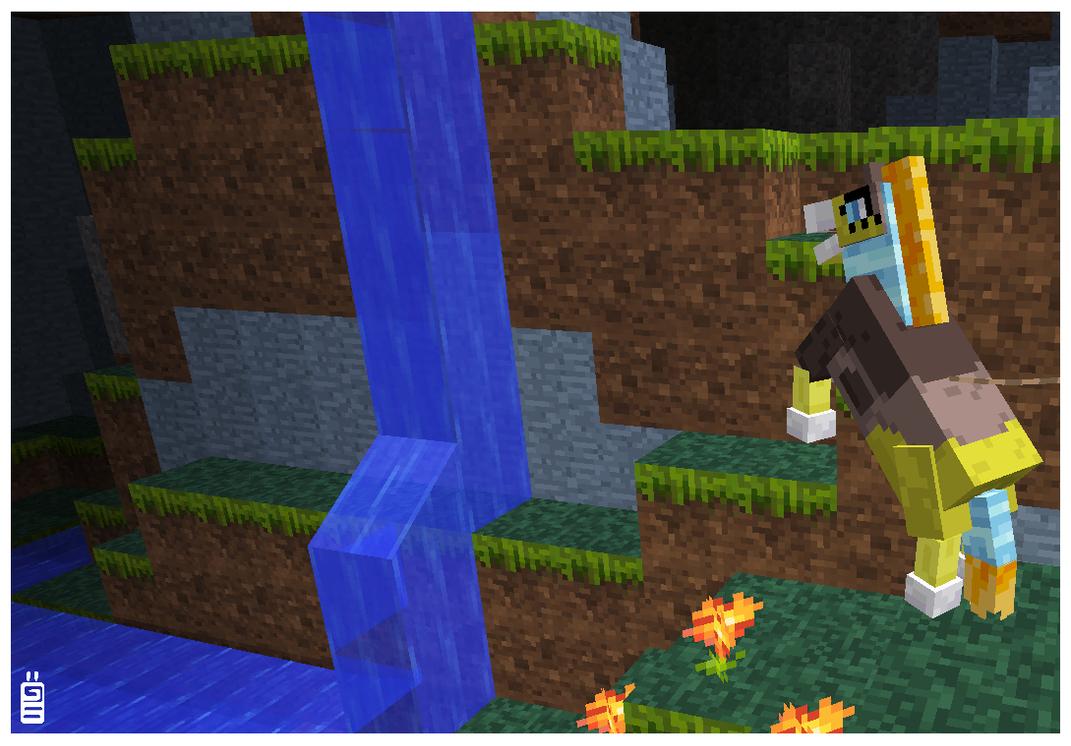 Plamen minecraft horse by griffsnuff