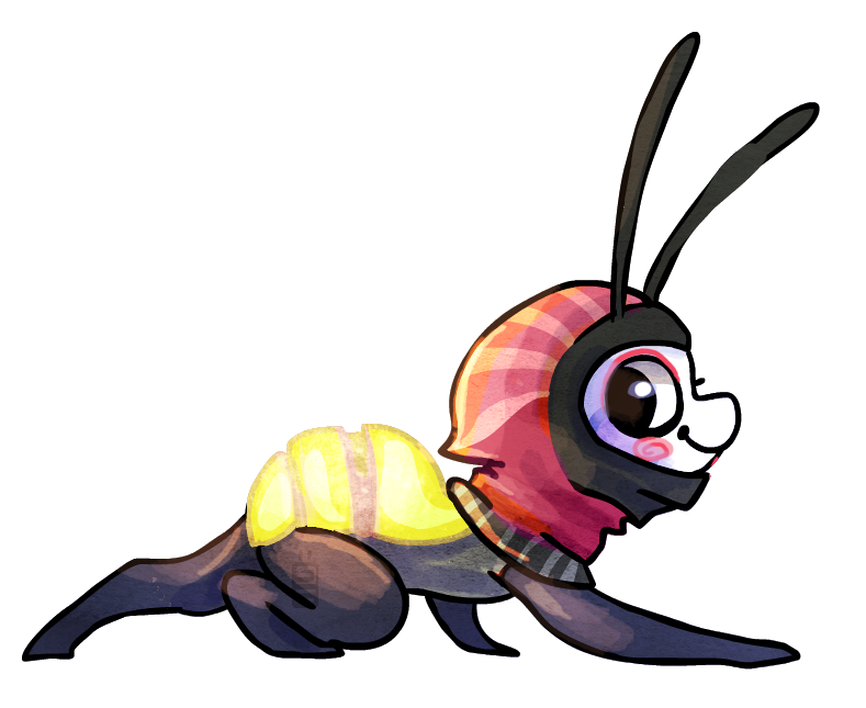 Lightning bug by griffsnuff on DeviantArt